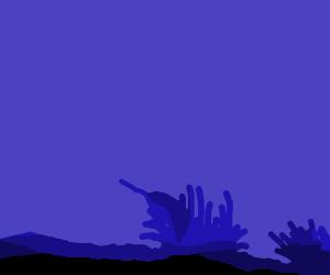 ジャンプするイルカのGIFアニメサムネイル animated gif dolphin jump