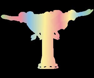 フィギュアスケート スピンのGIFアニメのサムネイル animated gif figure skating spins