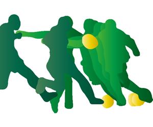 サッカー シュートをうつ選手のGIFアニメページのサムネイル animated gif soccer shoot for a goal